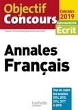 Véronique Bourhis et Laurence Allain-Le Forestier - Annales Français - Admissibilité écrit.