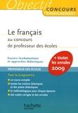 Véronique Bourhis - Le français au CRPE.