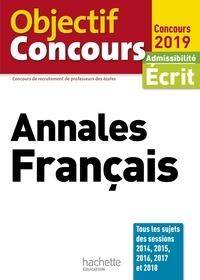 Véronique Bourhis et Laurence Allain Le Forestier - Objectif CRPE  Annales Français 2019.