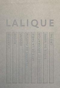 Véronique Brumm - Lalique - Le génie du verre, la magie du cristal. Coffret contenant 8 volumes.