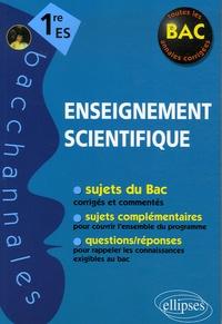 Véronique Brun - Enseignement scientifique 1e ES.