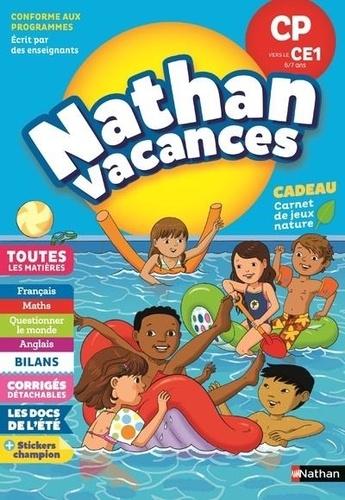 Nathan Vacances Du CP vers le CE1 6/7 ans  Edition 2018