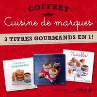 Véronique Cauvin et Martine Lizambard - Coffret Cuisine de marques - 3 titres gourmands en 1 !.
