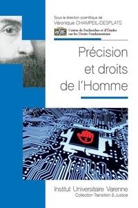 Véronique Champeil-Desplats - Précision et droits de l'homme.