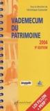 Véronique Couturier et  Collectif - Vademecum du patrimoine 2004.