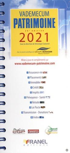 Vademecum patrimoine  Edition 2021