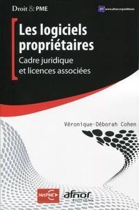 Véronique-Déborah Cohen - Les logiciels propriétaires - Cadre juridique et licences associées.
