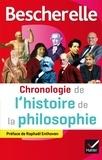 Véronique Decaix et Gweltaz Guyomarc'h - Bescherelle Chronologie de l'histoire de la philosophie - de la philosophie orientale au XXIe siècle.