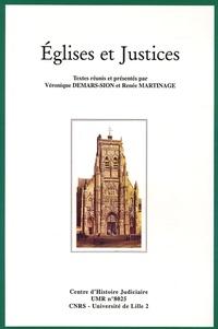 Véronique Demars-Sion et Renée Martinage - Eglises et Justices.