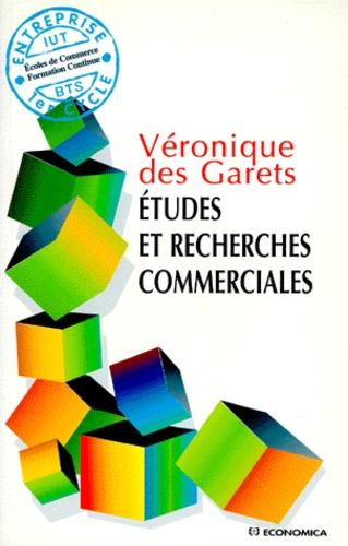 Véronique Des Garets - Études et recherches commerciales.