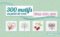 Véronique Enginger et Corinne Lacroix - 300 motifs au point de croix - Animaux, nature, saisons.