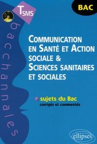 Véronique Gasté et Françoise Pinsard - Communication en Santé et Action sociale & Sciences sanitaires et sociales TSMS.
