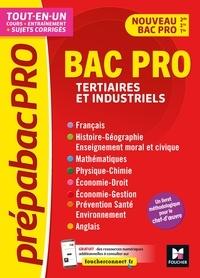 Véronique Hardy et Marc Boulanger - PrépabacPro - Bac Pro Tertiaires et industriels - Matières générales - Révision et entraînement.