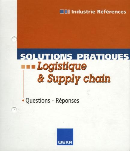 Véronique L'Hôte - Solutions pratiques Logistique et Supply Chain - Questions-Réponses.