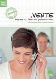 Véronique Labruyère et Chrystel Leymarie - Vente 1e et Tle Bac pro.