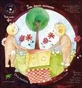 Véronique Lagny-Delatour et Julie Stein - Les deux oursons - Edition bilingue français-serbo-croate. 1 CD audio