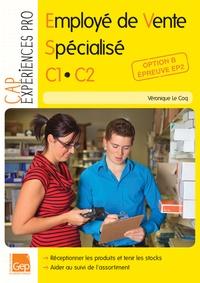 Véronique Le Coq - Employé de Vente spécialisé CAP C1 C2 - Option B, Epreuve EP2.