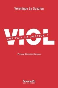 Véronique Le Goaziou - Viol, que fait la justice ?.