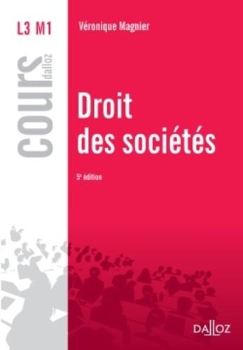 Droit des sociétés 5e édition