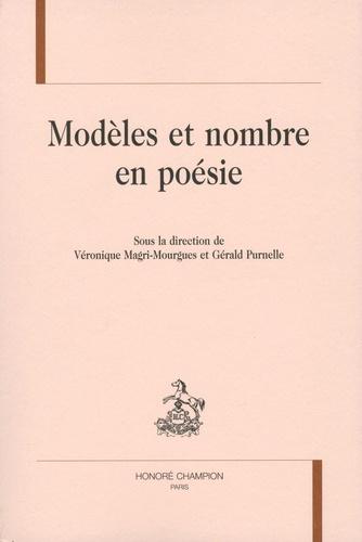 Modèles et nombre en poésie