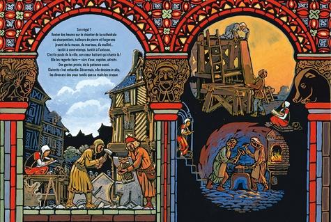 Les dessins de Claire. Vitraux de la cathédrale de Chartres