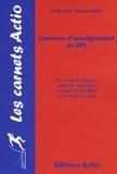 Véronique Mathias et Pascale Jeannin - Contenus d'enseignement en EPS.