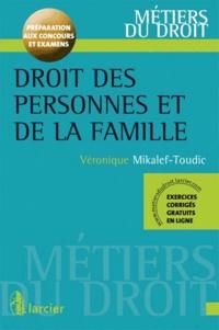 Véronique Mikalef-Toudic - Droit des personnes et de la famille.