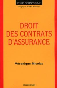 Véronique Nicolas - Droit des contrats d'assurance.