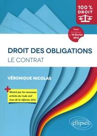 Véronique Nicolas - Droit des obligations - Le contrat.