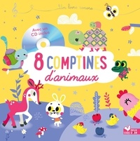 Véronique Petit et Tiago Americo - 8 comptines d'animaux. 1 CD audio