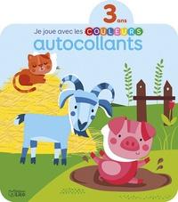 Véronique Petit - Autocollants La ferme - Je joue avec les couleurs.