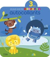Véronique Petit - Autocollants Les animaux sauvages - Je joue avec les couleurs.