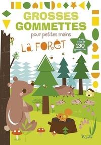Véronique Petit - La forêt - Avec plus de 130 gommettes.