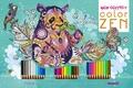 Véronique Raskinet - Mon coffret color zen - Avec 30 crayons de couleur.