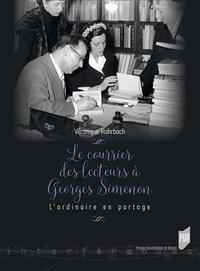 Histoiresdenlire.be Le courrier des lecteurs à Georges Simenon - L'ordinaire en partage Image