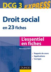 Véronique Roy - Droit social 2010 DCG 3.