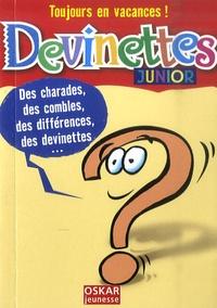 Véronique Saintonge - Devinettes - Junior.