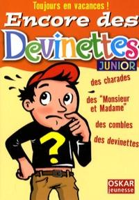 Véronique Saintonge - Encore des devinettes - Junior.