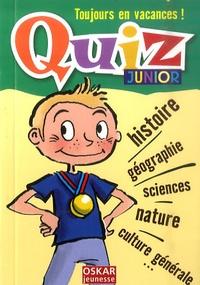 Véronique Saintonge - Quiz - Junior.