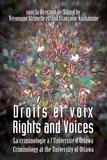 Véronique Strimelle et Françoise Vanhamme - Droits et voix - Rights and Voices - La criminologie à l'Université d'Ottawa - Criminology at the University of Ottawa.