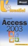 Véronique Warion et Emmanuelle Burr - Microsoft access 2003.