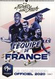 Vianney Thibaut et Sindy Thomas - #Fiers d'être bleus - Le calendrier officiel de l'équipe de France.