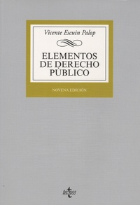 Vicente Escuin Palop - Elementos de derecho publico.