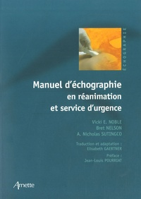Histoiresdenlire.be Manuel d'échographie en réanimation et service d'urgence Image