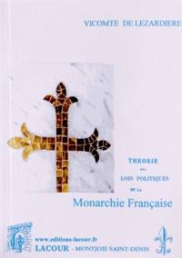 Vicomte de Lézardière - Théorie des lois politiques de la monarchie française - Tome 4.