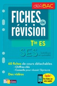 Victoire Patouillard - SES Tle ES Spécifique et spécialité - Fiches de révision.