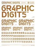 Victor Cheung - Graphic Digits - New Typographic Approach to Numerals.