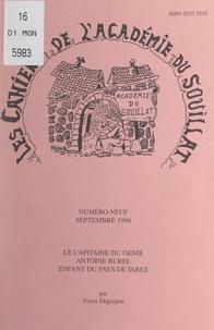 Victor Degorgue - Le capitaine du génie Antoine Burel, enfant du Pays de Jarez - Suivi de Notes pour servir à l'histoire des communes de Dargoire (Loire), Tartaras (Loire), Saint-Jean-de-Touslas (Rhône), 1773-1850.