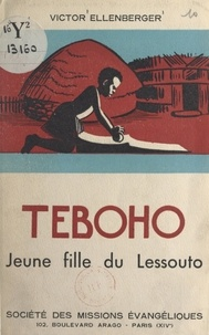Victor Ellenberger - Tébôho - Jeune fille du Lessouto.