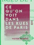 Victor Fournel - Ce qu'on voit dans les rues de Paris.